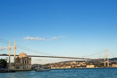 Istanboel Turkije Stock Foto