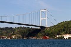 De Brug van Bosphorus in Istanboel Royalty-vrije Stock Afbeelding