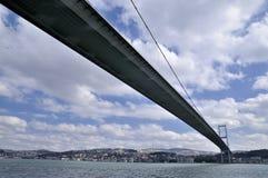 De brug van Bosphorus in Istanboel Royalty-vrije Stock Foto's