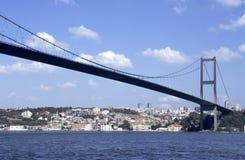 De brug van Bosporus stock afbeelding