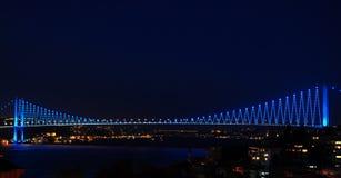 De brug van Bosporus Stock Fotografie