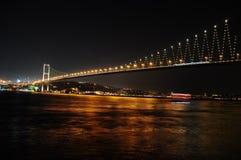 De brug van Bosporus Royalty-vrije Stock Foto