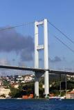 De Brug van Bosporus van Istanboel Stock Afbeeldingen