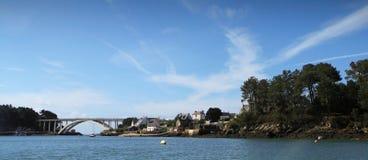 De brug van Bretagne dichtbij   Royalty-vrije Stock Foto's