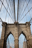 De Brug van Brooklyn Royalty-vrije Stock Afbeelding