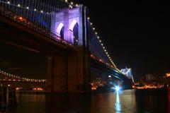 De Brug van Brooklyn - 125ste Verjaardag 2 Royalty-vrije Stock Foto