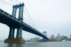 De brug van Brooklyn Royalty-vrije Stock Afbeeldingen