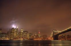 De Brug van Brooklyn Stock Fotografie