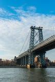 De brug van Brooklyn Stock Afbeeldingen