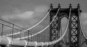 De brug van Brooklyn Royalty-vrije Stock Fotografie