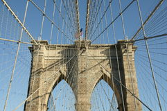 De Brug van Brooklyn Royalty-vrije Stock Foto's