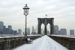 De Brug van Brooklyn Stock Foto