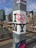De Brug van Brooklyn is altijd een goed idee Stock Fotografie