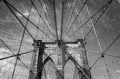 De brug van Brooklyn, de Stad van New York royalty-vrije stock foto's