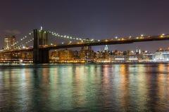De Brug van Brooklyn in New York Royalty-vrije Stock Afbeelding