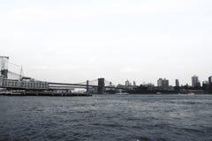 De brug van Brooklyn, de Stad van New York De V.S. royalty-vrije stock foto's