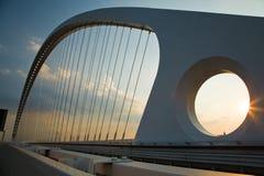 De Brug van Calatrava Royalty-vrije Stock Afbeeldingen