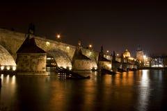 De brug van Charles Stock Afbeeldingen