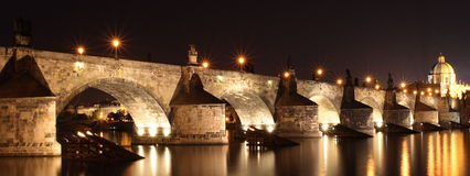 De brug van Charles royalty-vrije stock afbeelding