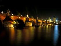 De brug van Charles, Praag Stock Afbeeldingen