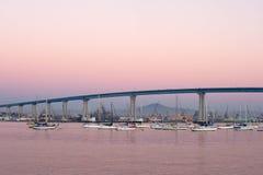 De brug van Coronado stock foto's