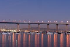 De brug van Coronado stock afbeelding
