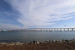 De brug van Coronado stock foto