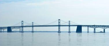 De Brug van de baai in Maryland royalty-vrije stock fotografie