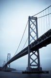 De brug van de Baai, San Francisco stock afbeeldingen