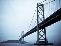 De brug van de Baai, San Francisco stock foto's