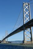 De brug van de baai, San Francisco royalty-vrije stock foto's