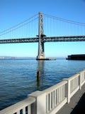 De Brug van de Baai van Oakland royalty-vrije stock afbeelding