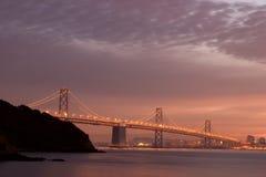 De Brug van de Baai van San Francisco stock foto