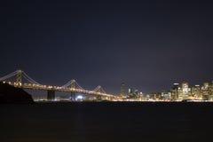 De brug van de Baai van San Francisco Stock Foto's