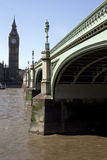 De Brug van de Big Ben & van Westminster Royalty-vrije Stock Foto's