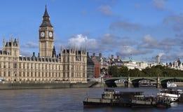 De brug van de Big Ben en van Westminster Royalty-vrije Stock Afbeeldingen