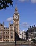 De brug van de Big Ben en van Westminster Stock Fotografie