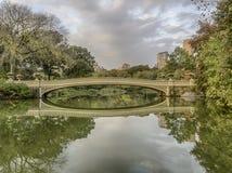 De brug van de boog Royalty-vrije Stock Afbeelding