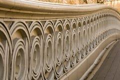 De Brug van de boog in Central Park royalty-vrije stock fotografie