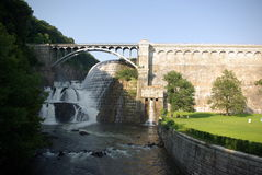 De brug van de Dam van Croton Stock Foto's