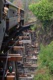 De brug van de doodsspoorweg Royalty-vrije Stock Foto's