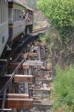 De brug van de doodsspoorweg Royalty-vrije Stock Foto