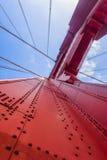 De Brug van de Golden Gateveelhoek in San Francisco Stock Afbeelding
