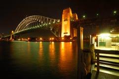 De brug van de haven Royalty-vrije Stock Fotografie