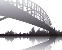 De Brug van de haven, Sydney Stock Fotografie