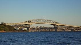 De Brug van de Haven van Auckland Stock Foto's