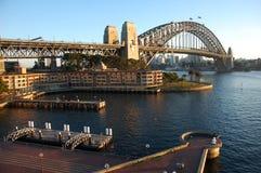 De Brug van de Haven van Sydney Royalty-vrije Stock Foto