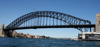 De Brug van de Haven van Sydney stock foto