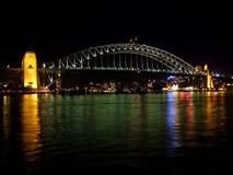 De Brug van de Haven van Sydney Stock Afbeeldingen
