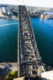 De Brug van de Haven van Sydney. Royalty-vrije Stock Afbeeldingen